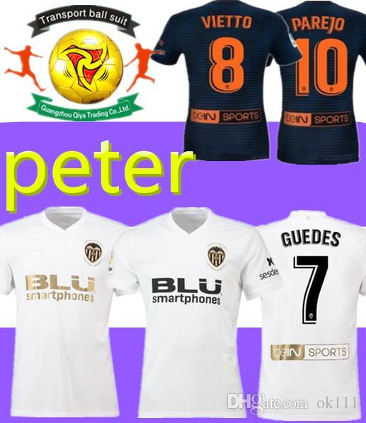 lowest price efc81 7b658 Thai quality Valencia 2019 Golden Soccer Jerseys,Chandal valencia Jersey  Valencia CF 18 19 Batshuayi Gameiro Kondogbia C.Soler Parejo