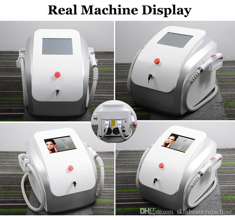 2020 Portable picoseconde Laser Machine Pigment spot enlèvement SHR IPL Pico deuxième Yag Lazer Hairs détatouage Pico Laser Appareil