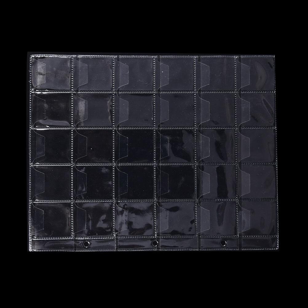 497176fd31 Acquista 1 O 2 Fogli 30 Tasche In Plastica PVC Portamonete Contenitore Di  Raccolta Di Denaro Materiale Album Di Alta Qualità A $33.48 Dal Orchidor |  DHgate.