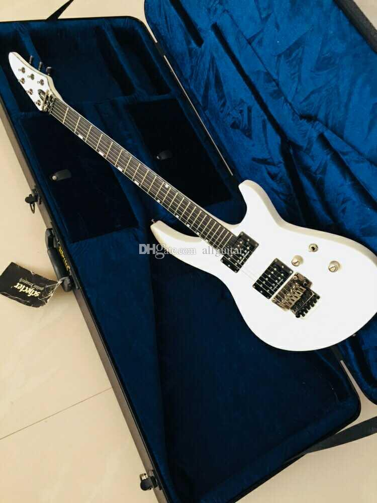 NEW Custom HORIZON-III guitar Seymour Duncan Pickups Ice white Floyd Rose  Tremolo Bridge Electric guitar