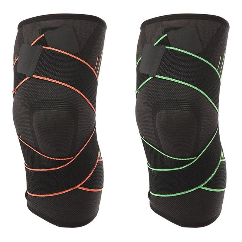 6b4967314c 2019 Nonslip 3D Pressurized Fitness Running Cycling Bandage Knee Support  Braces Elastic Nylon Sports Compression Pad Sleeve From Comen, $33.74 |  DHgate.Com