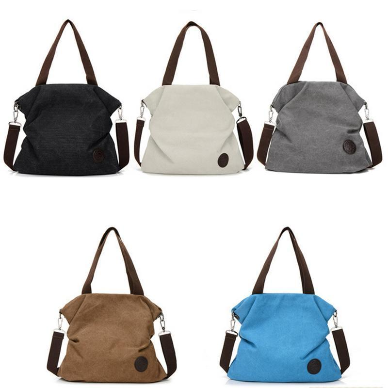 Korean Casual Fashion Canvas Shoulder Bag Handbag Single Crossbody Messenger  Hand Bags Canvas Bag For Female Student Women Bag Purses Designer Handbags  From ... fea0f0a031e86