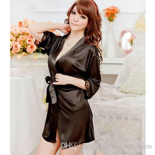 759559d7d5 2019 Sexy Fashion Comfortable Beautiful Fascinating Leisure Wear Women Lace Light  Robe Nightgowns Bathrobes Negligee Toy Underwear From Fashion kingdom
