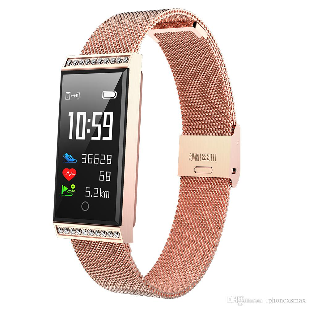 X11 watch Color Screen Smart Bracelet Fitness Tracker Band Heart Rate Blood Pressure Monitor Wristband fitbit smartwatch xiao mi huawei ios
