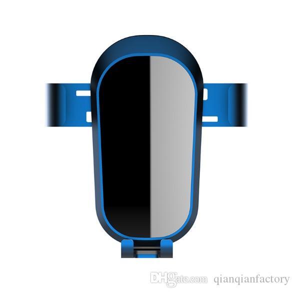 НОВЫЙ Смарт Инфракрасный Ци Беспроводной 10 Вт Быстрое Автомобильное Зарядное Устройство Автоматическая Индукция Телефон Держатель для смартфона