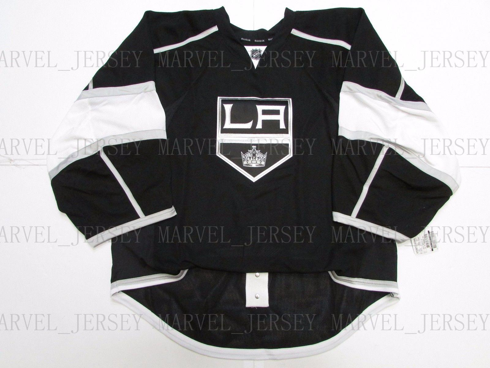 e6a6f5ee0 2019 Cheap Custom LOS ANGELES KINGS HOME JERSEY GOALIE CUT 58 Stitch Add  Any Number Any Name Mens Hockey Jersey From Marvel jersey