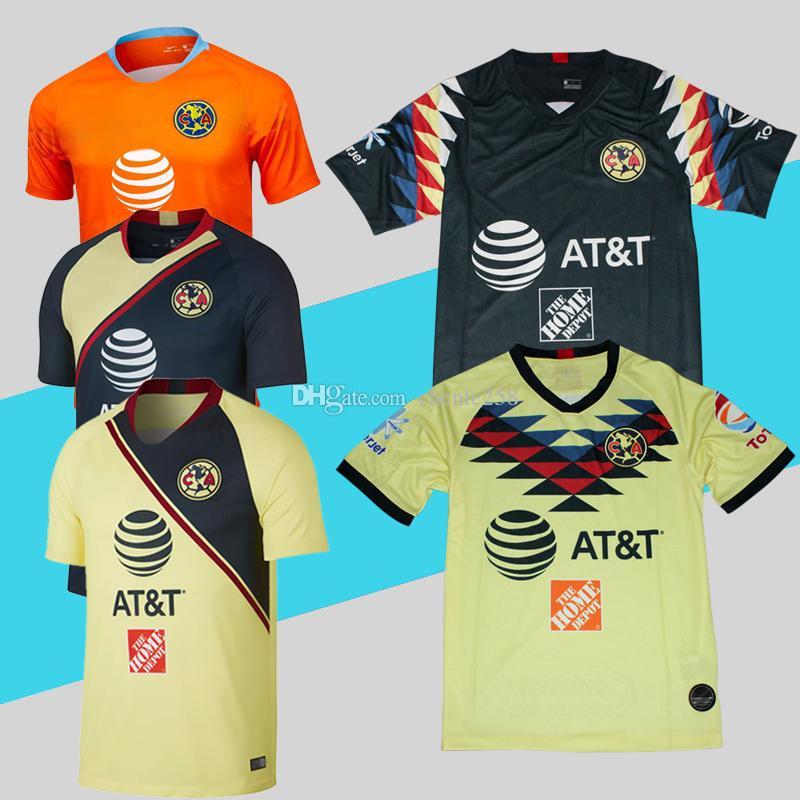 98e7e95cb 2019 Club America Soccer Jersey 2019 2020 Liga MX Home Away Third 18 19  Football Shirt Top Quality More Free DHL Shipping From Chenle258, $15.89 |  DHgate.