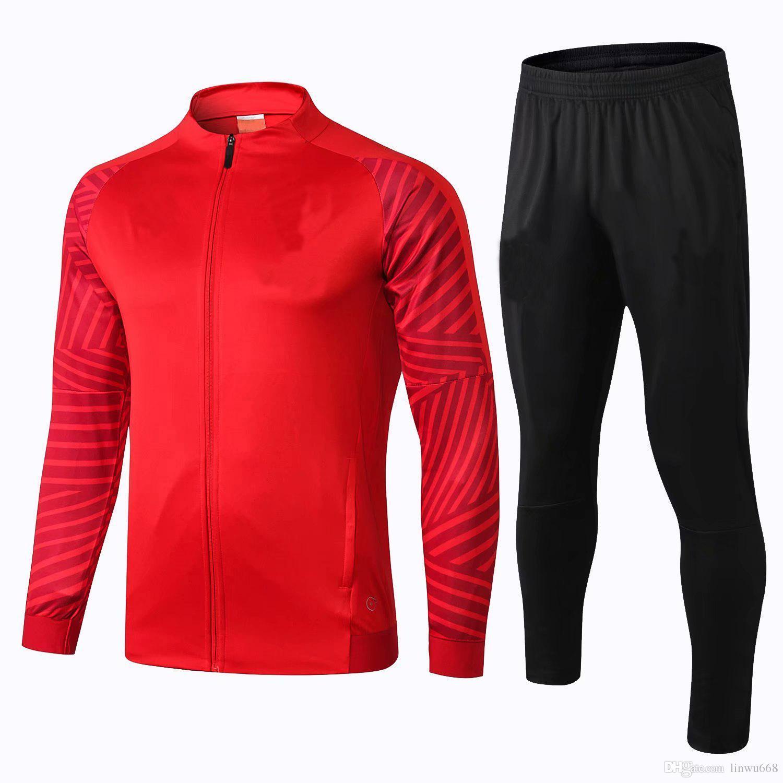 462ecc1a9 2019 ARSENAL Tracksuit 18 19 Survetement Full Zipper Football Jacket 2018 19  Maillot De Foot OZIL RAMSEY GIROUD LACAZETTE Soccer Jacket Set From  Linwu668