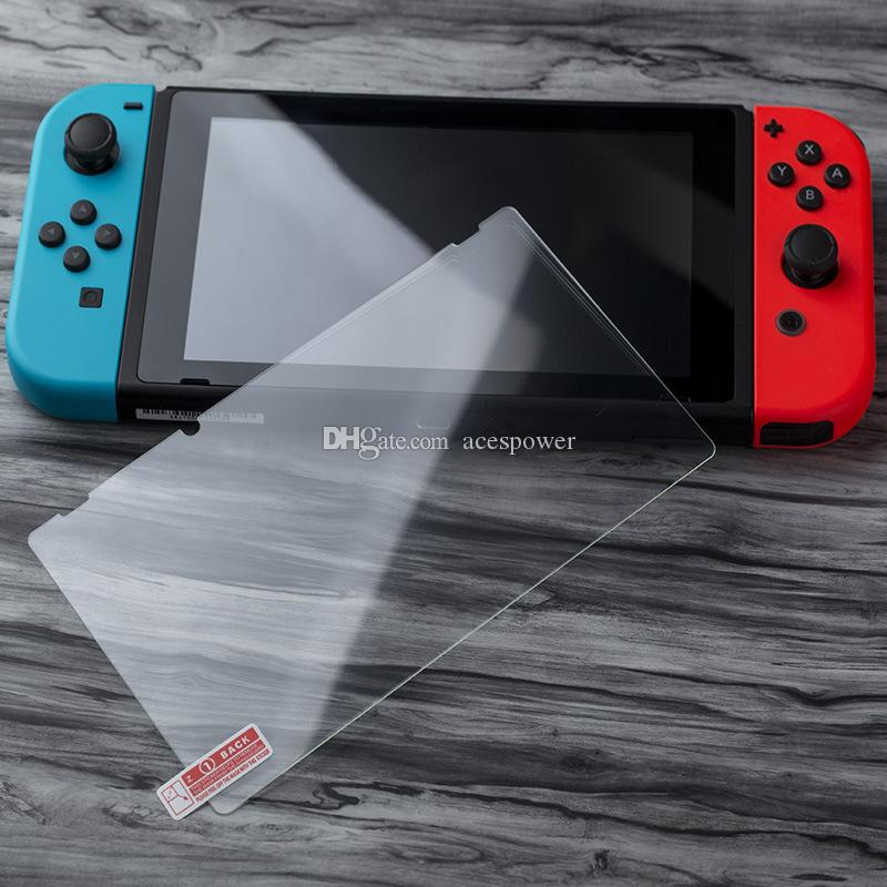 Tempered Glass Film Screen Protector for Nintend Switch Glass Protective Film for Nintend Lite Ultra Slim Clear Retail Package