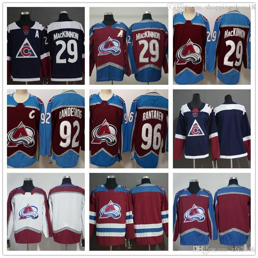 competitive price e5be7 40004 where to buy colorado avalanche 29 nathan mackinnon blue ...