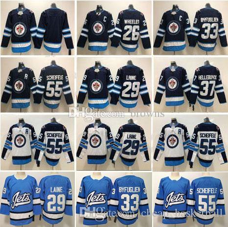 Winnipeg Jets Men 29 Patrik Laine 26 Blake Wheeler 33 Dustin ... db0f2303b