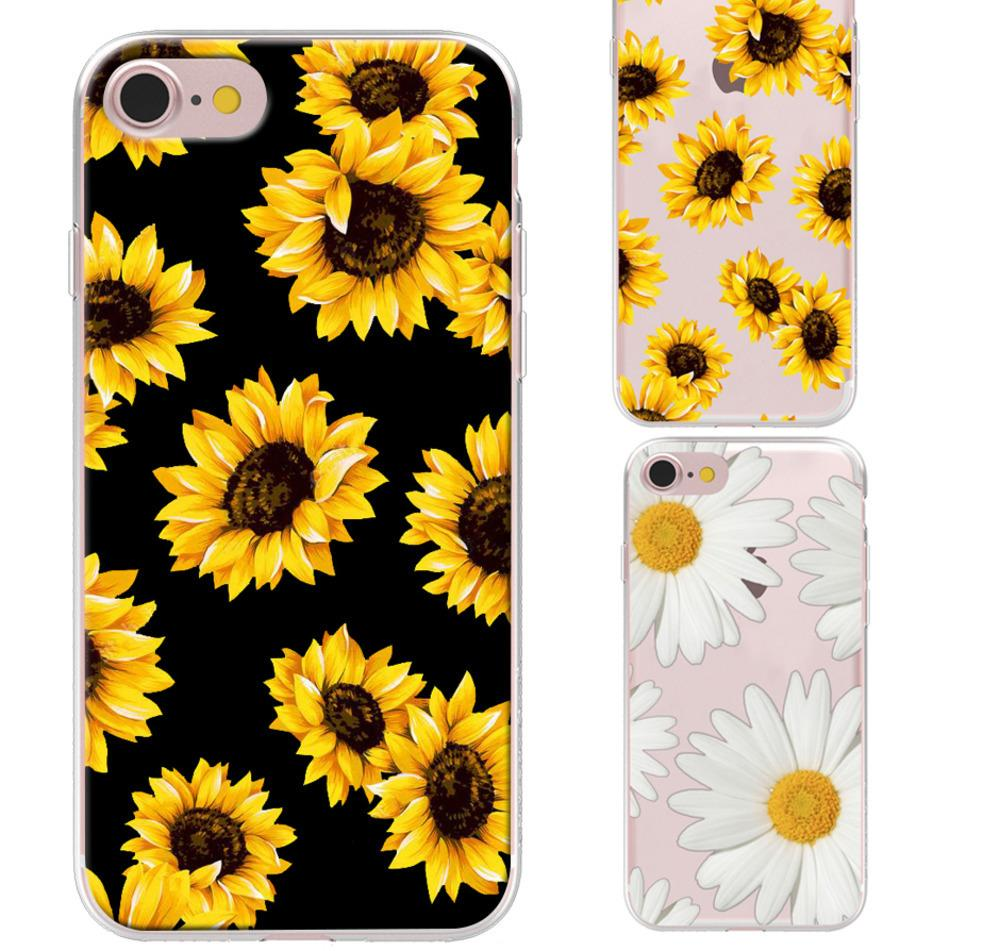 coque iphone 7 sunflower