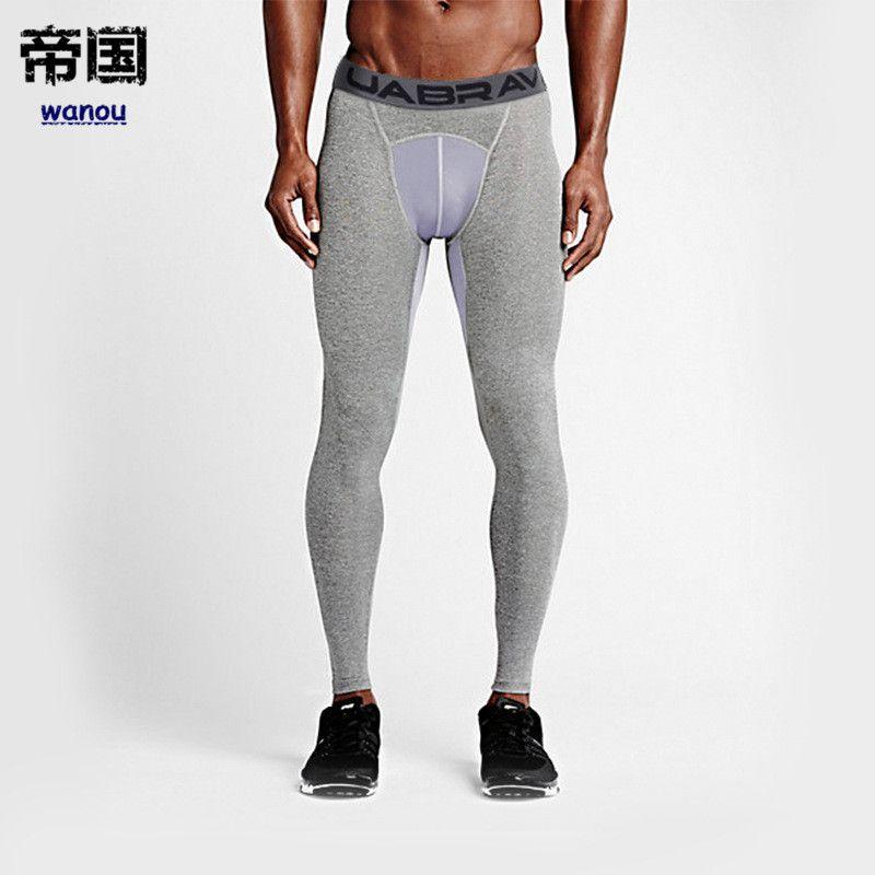 6122e7f750fd8 2019 NEW Sport Compression Pants Sports Running Tights Men Jogging Legging  Fitness Gym Basketball Clothing Sport Legging Yoga Legging Men From  Diguowanou, ...