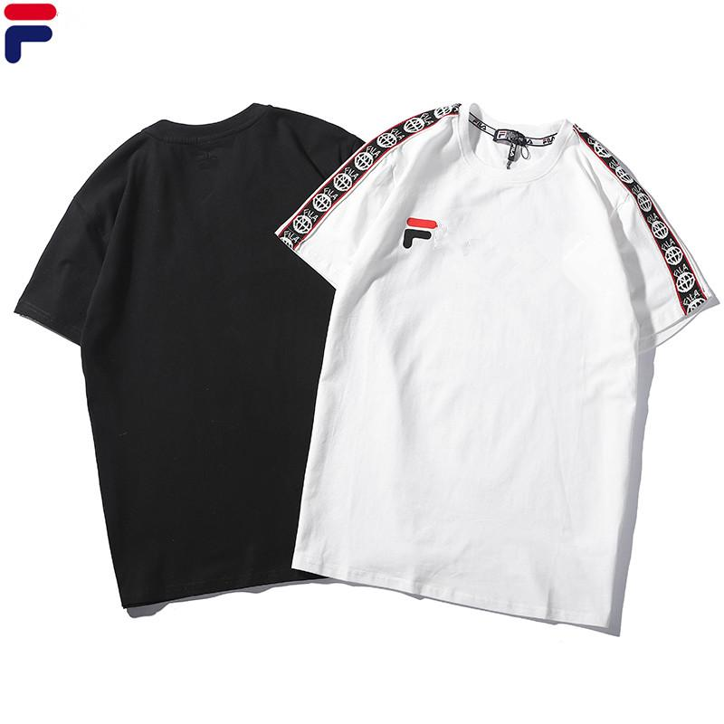 cefff5eb6 Summer Fashion Polo Shirt Men Women Clothing European And American Style T  Shirt Letter Printing Cotton Tees Interesting T Shirt Designs T Shirts Cool  ...
