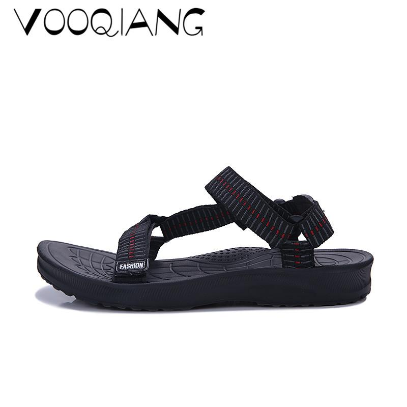 d91dc7b4db4d2e New Men Sandals Summer Men Beach Shoes Weaving Slippers Hole Breathable Flip  Flops Non Slip Sandals Men Clogs Outside Sandalia Online with  36.53 Piece  on ...
