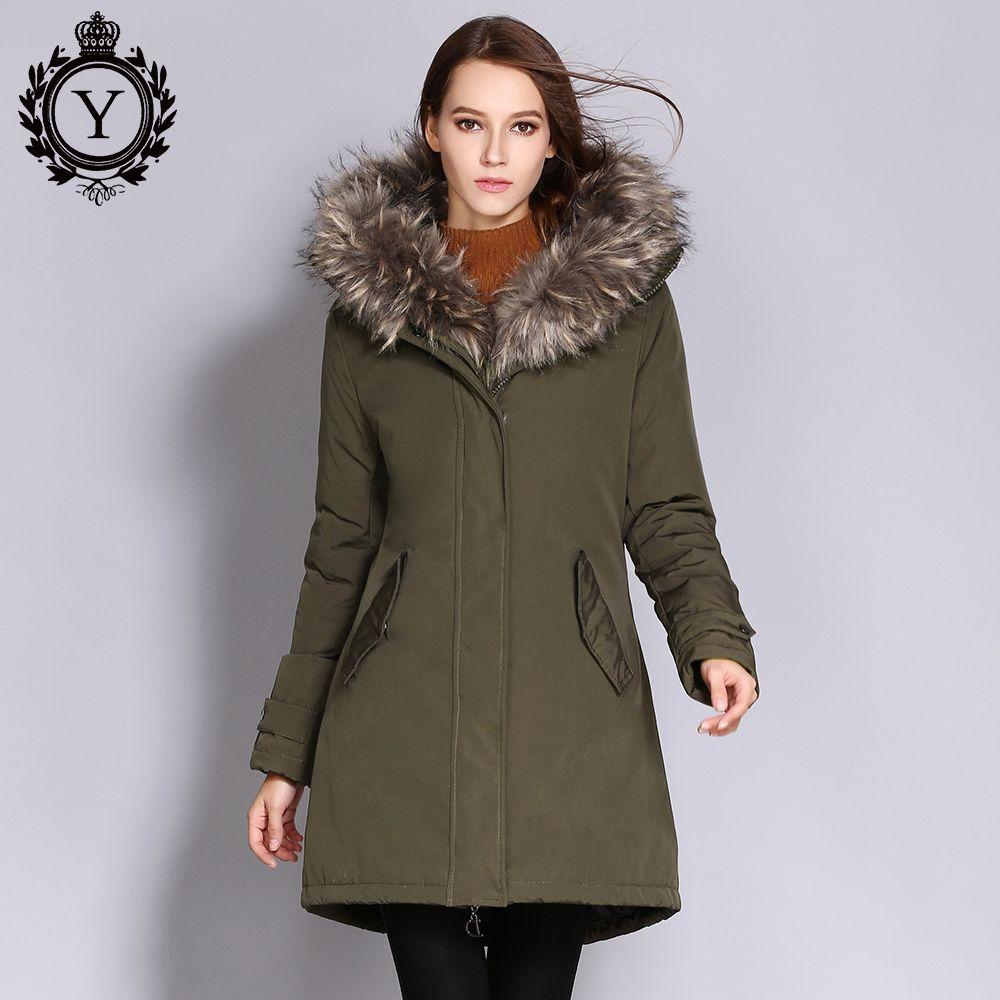 13893e351ac 2018 Winter Jacket Women 2018 Parkas Plus Size Outwear Coats Woman ...