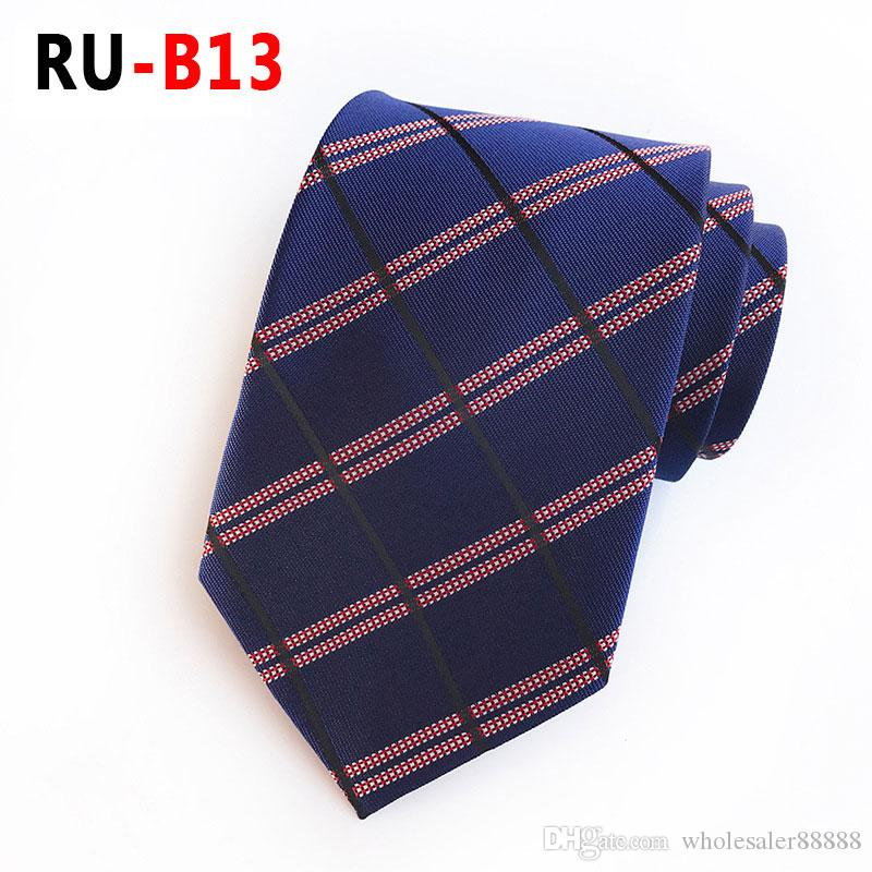 5b73e5ba8804 Fashion Men Classic Ties 100% Silk Jacquard Woven Handmade Men S Tie Necktie  For Men Wedding Casual And Business Neck Ties 20 Cravat Tie Knitted Ties  From ...