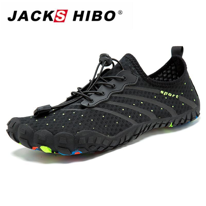 8f46dd6f3c Compre JACKSHIBO Hombres Zapatos Para El Agua Barefoot Beach ...