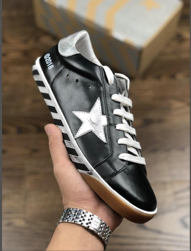 c196396626 cheap price free shipping Golden Goose Ggdb old style sneakers Genuine  Leather Villous Dermis Casual Shoes Luxury Superstar trainer 35-45