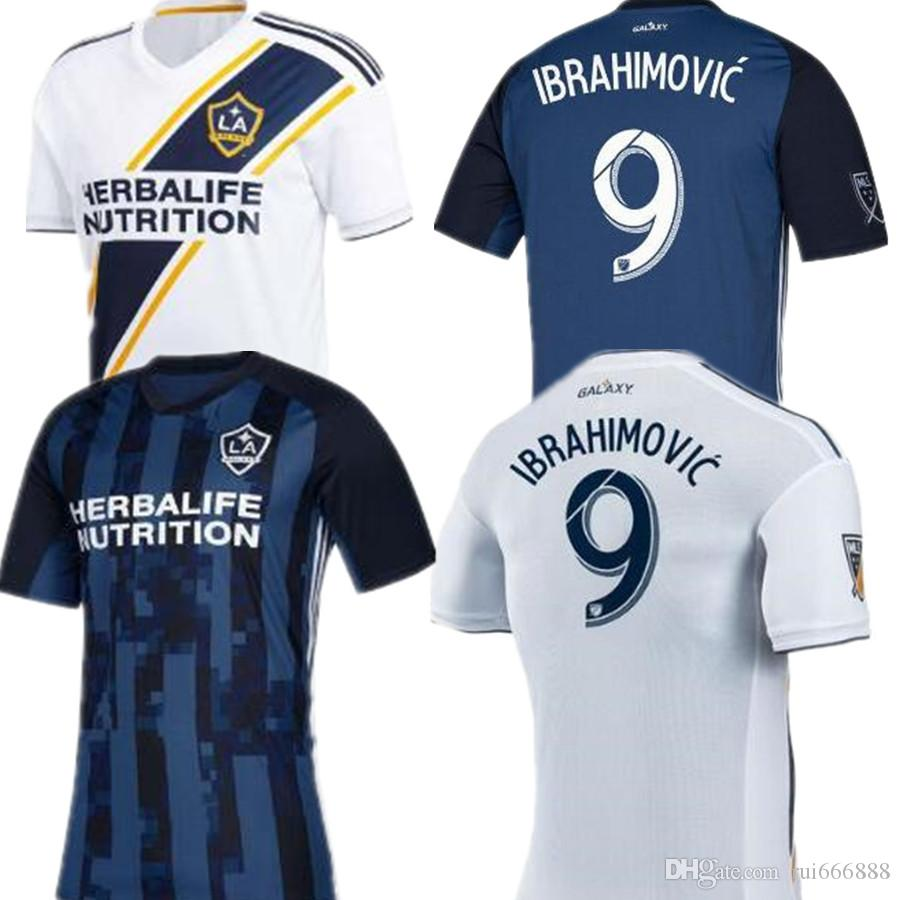 timeless design 8d05c c3177 Zlatan Ibrahimovic Soccer Jersey La Galaxy Ibrahimovic MLS 2018 Football  Galaxy Jersey Giovani Los Angeles Jersey Camisetas Shirt Maillot