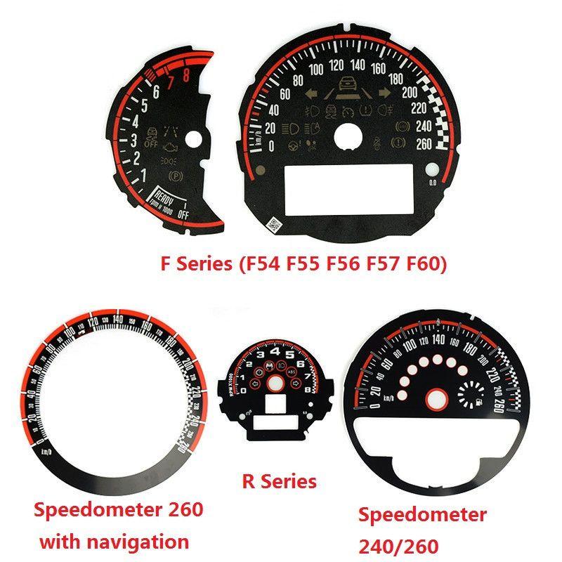 Car Styling Speedometer Tachometer Dial for Mini Cooper JCW F54 F55 F56 F57  F60 R55 R56 R60 R61 Replacement Accessories