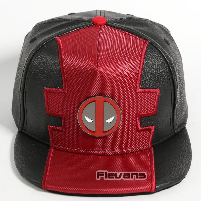25743317 Marvel Deadpool Snapback Caps Cool Fashion Hip Hop Hat Adult Faux Leather  Baseball Cap For Men Hats Online Cap Online From Newcollection, $20.23|  DHgate.Com