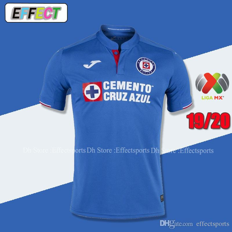 e1ec936c4 2019 New Arrived 2019 2020 Mexico Club Cruz Azul Liga MX Soccer Jerseys  19 20 Home Blue Away White Football Shirts Camisetas De Futbol From  Effectsports