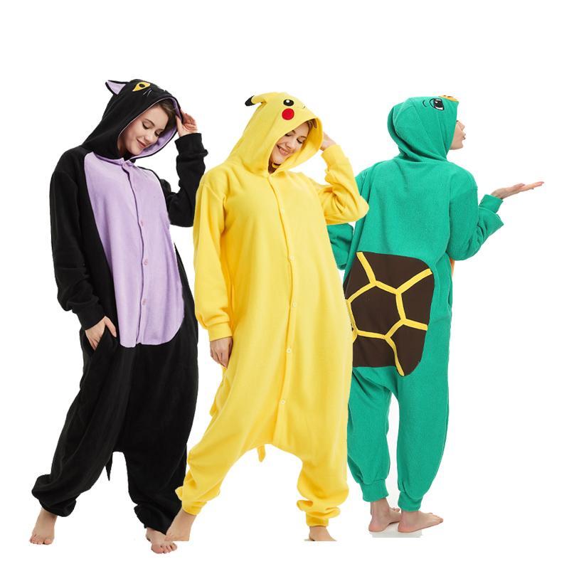 9a2ee2fc06 Compre Suave Kigurumi Animal Para Adultos Onesie Body Mujeres Halloween  Cosplay Carnaval Hombres Mono Ropa De Dormir Pijamas Partes A  22.2 Del  Home5 ...