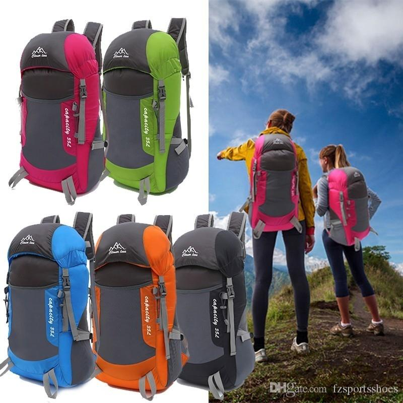 Foldable Sport Bag Super Pack Travel Backpack Outdoor Trekking Climbing Mountain Waterproof Hiking Softback Camping Rucksack Hot #108547