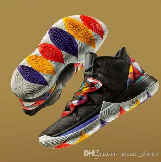 14a443d6c3f0 2019 Designer 2019 Kyrie 5 CNY Ikhet Starry Sky Basketball Shoes Sneakers  Schuhe Concepts X 5s Taco Mens Trainers Sports Authentic Baskets 40 46 From  ...