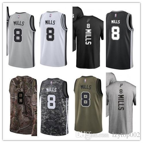 low priced cb1bf 5a435 2019 custom San Men/WOMEN/youth Antonio Spur jersey 8 Patty Mills  basketball jerseys free ship size s-xxl message name number