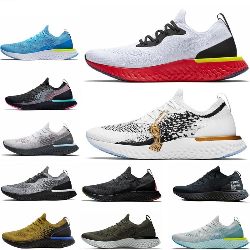 ac82a3935fac 2019 New Epic React Running Shoes Art Of Champion Flash Platinum Olive Mesh  Breathable Mens Racing Runner Women Personality Comfort Sneakers Shoes Men  ...