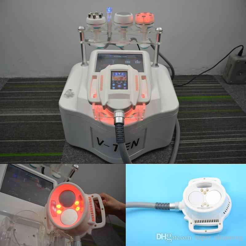 Dispositivi di modellatura velashape di buon effetto dimagrante multifunzione bellezza macchina Vuoto RF perdita di peso cavitazione ultrasonica dimagrimento rf
