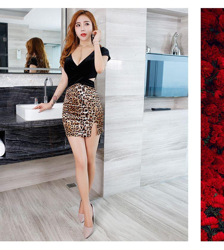 c72fb83fba258c 2019 Women Sexy Dress Autumn And Winter New Slim Temperament Package Hip  Split Night Night Miss Work Clothes Nightclub From Pyramid888, $30.16 |  DHgate.Com