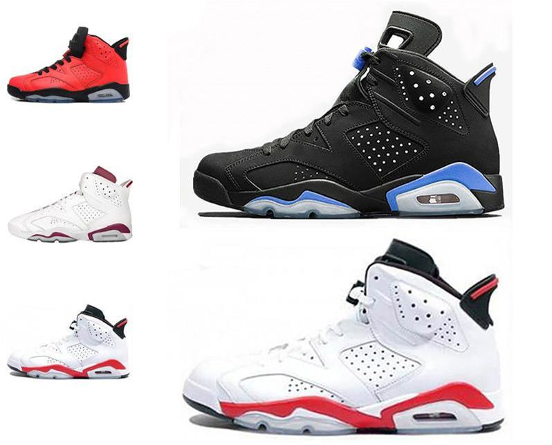 725911861b9 2019 2019 High Quality 6 6s Black Infrared 3M Reflect Carmine UNC  Basketball Shoes Men Toro Hare Oreo Maroon Tinker Low Chrome Sneakers  Lustore From Lustore ...