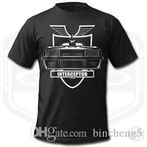 MAD MAX INTERCEPTOR T-SHIRT MÄNNER BLAHarajuku | HarajukuFalcon Interceptor MFP Pursuit S ...