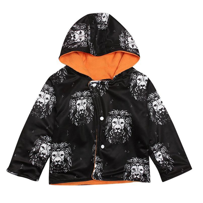 2feb70cd3 Winter Girls Clothes Coat For Girl Toddler Kids Baby Girls Boys ...