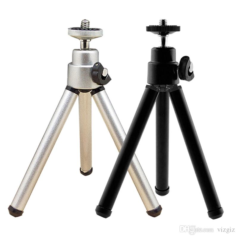 Portable Black Mini Light Table Top Stand Tripod Grip Stabilizer for Cameras