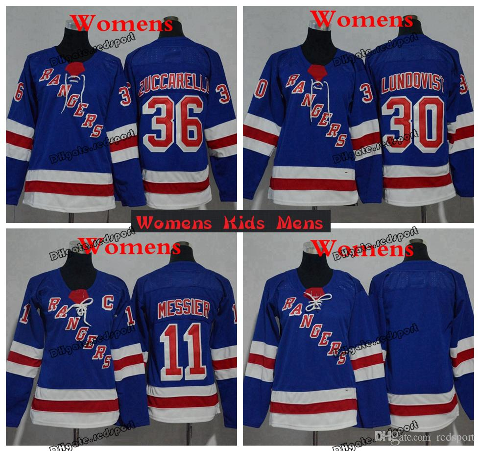 2019 2019 Womens New York Rangers Hockey Jerseys 11 Mark Messier 30 Henrik  Lundqvist Kids Boys Womens Ladies Stitched Shirts From Redsport bb9785dc3b