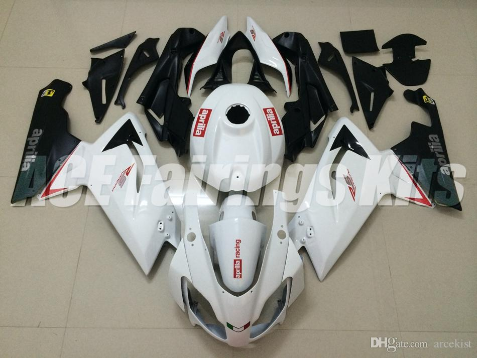New Injection Mold ABS motorcycle bike Full fairing kits for aprillia RS125 2006-2011 Fairings RS 125 06 07 08 09 10 11 RS4 bodywork white