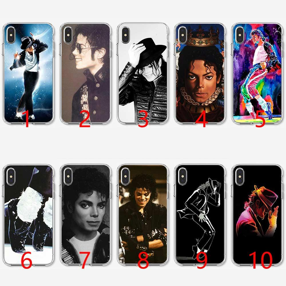 0bd2f53da6 Michael Jackson Music Dance Soft Silicone TPU Phone Case For IPhone 5 5S SE 6  6S 7 8 Plus X XR XS Max Cover Customize Phone Cases Mobile Phone Case From  ...