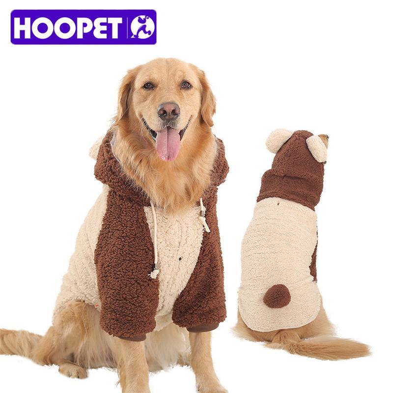 Pet Dog Winter Warm Fleece Coat Jacket Thermal Dog Hoodies Pajamas