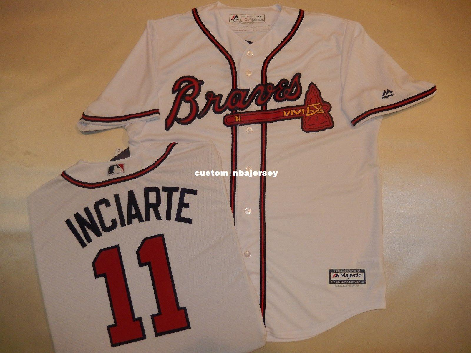 finest selection 1ac8c 10916 Cheap custom ENDER INCIARTE Baseball Cool Base JERSEY Stitched Customize  any name number MEN WOMEN BASEBALL JERSEY XS-5XL