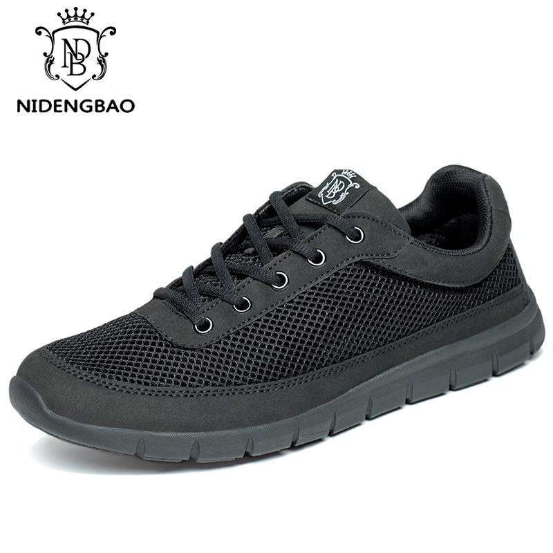 8b4ac39dab292 Fashion Shoes Men Big Size 49 50 Breathable Podsachek Full Mesh Man ...