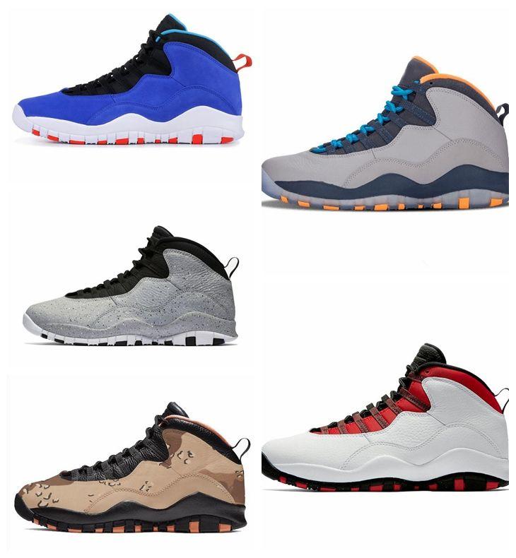 65fea2fc6c6 2019 2019 HOT Men Basketball Shoes 10 Desert Cat Tinker Cement 10s ...