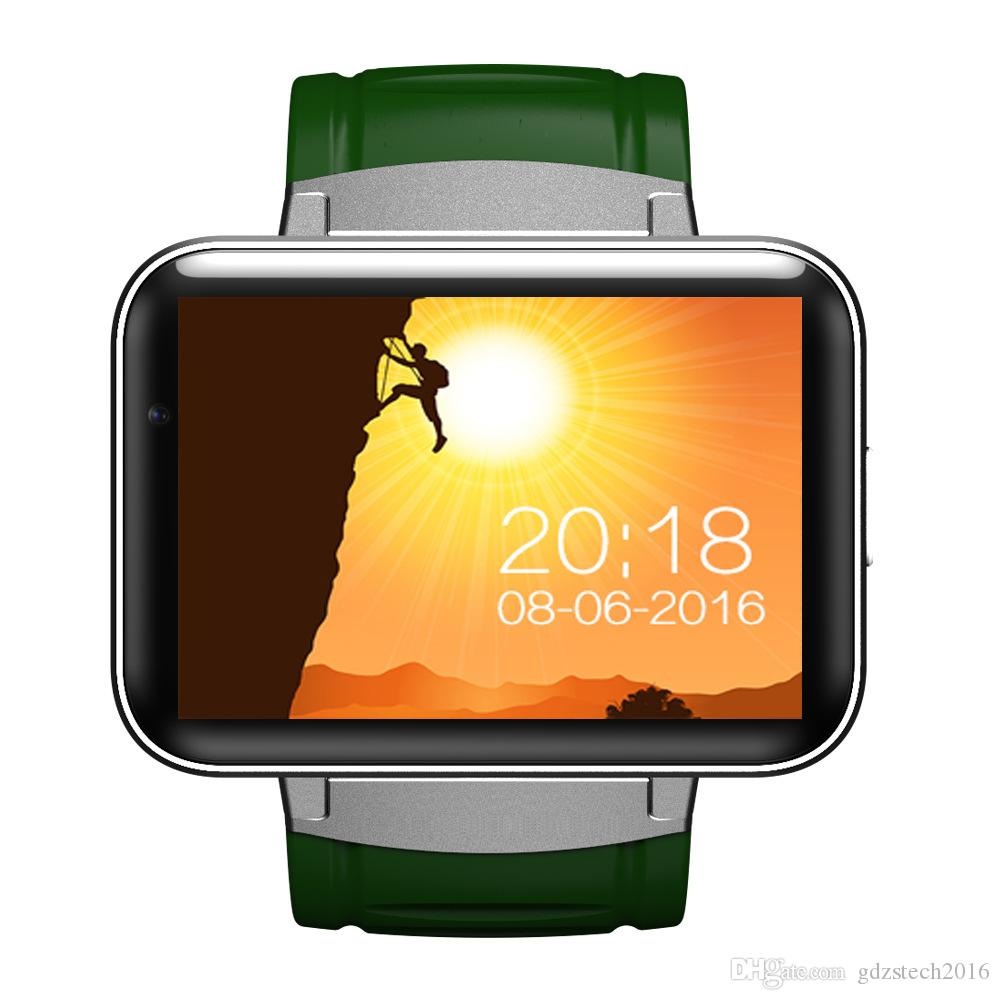 DM98 Bluetooth Smart Watch 2 2inch Android OS 3G Smartwatch Phone MTK6572  Dual Core 1 2GHz 512MB RAM 4GB ROM Camera WCDMA GPS