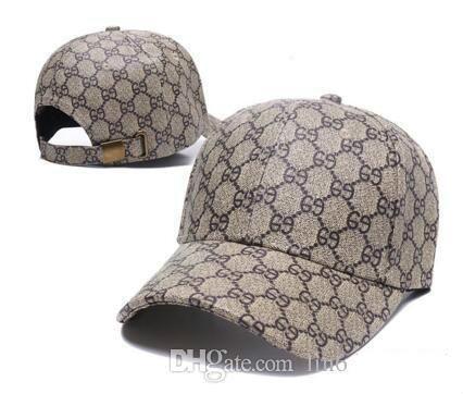 73edc5720 2018 Summer New Brand Mens Designer Hats Adjustable Baseball Caps ...