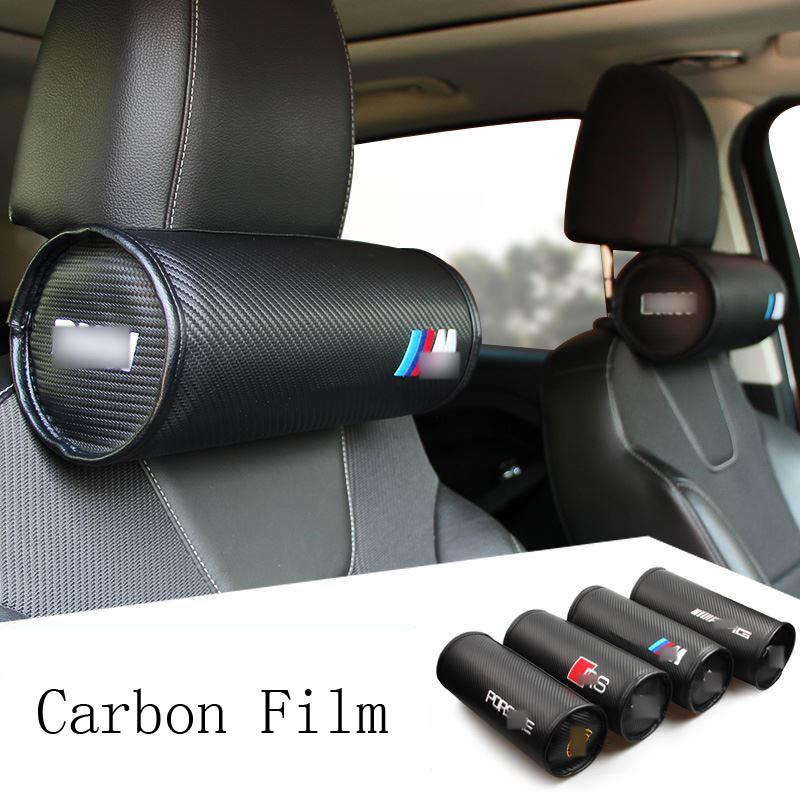 car Neck pillow Headrest Cushion for jeep mini bmw m mazda toyota nissan benz Mitsubishi audi sline covers interior Headrest accessories