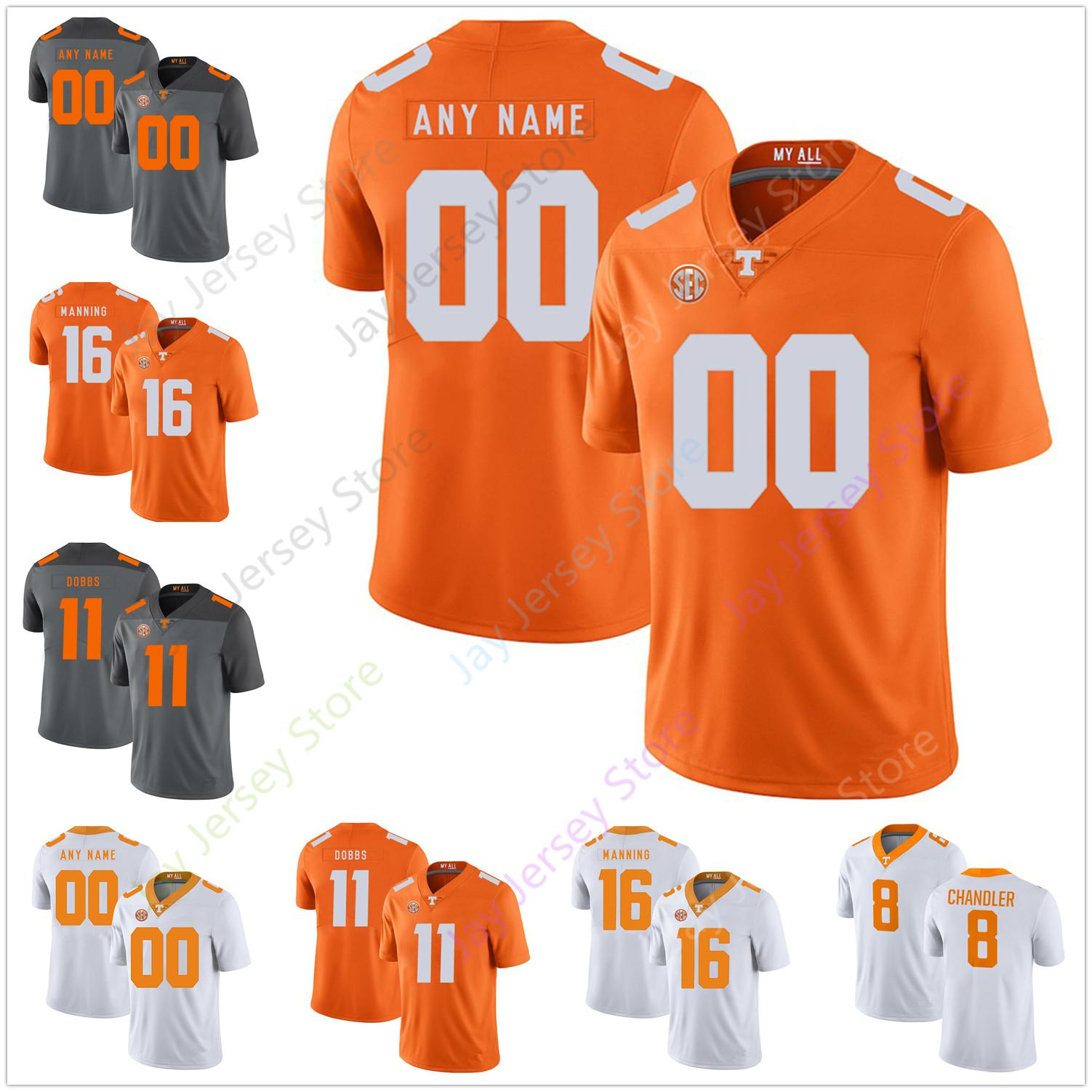 new style d3cea 3cbb6 Custom Tennessee Volunteers Football Jerseys Keller Chryst Madre London  Jeremy Banks Marquez Callaway Josh Palmer Jauan Jennings Daniel Bitu