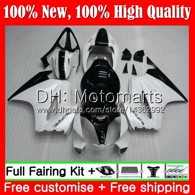 Body For HONDA Interceptor VFR800RR 02 08 09 10 11 12 69MT21 VFR800 RR VFR 800 RR 2008 2009 2010 2011 2012 Fairing Bodywork White black